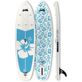 Indiana SUP 9'6 Allround Inflatable Sup Pack Ladies Basic with 3-Piece Fibre/Composite Paddle